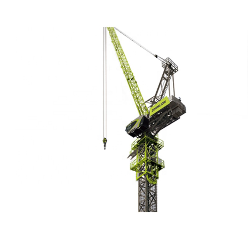 ZOOMLION 12 ton Luffing jib Tower Crane with derricking jibs L160-12 for sale