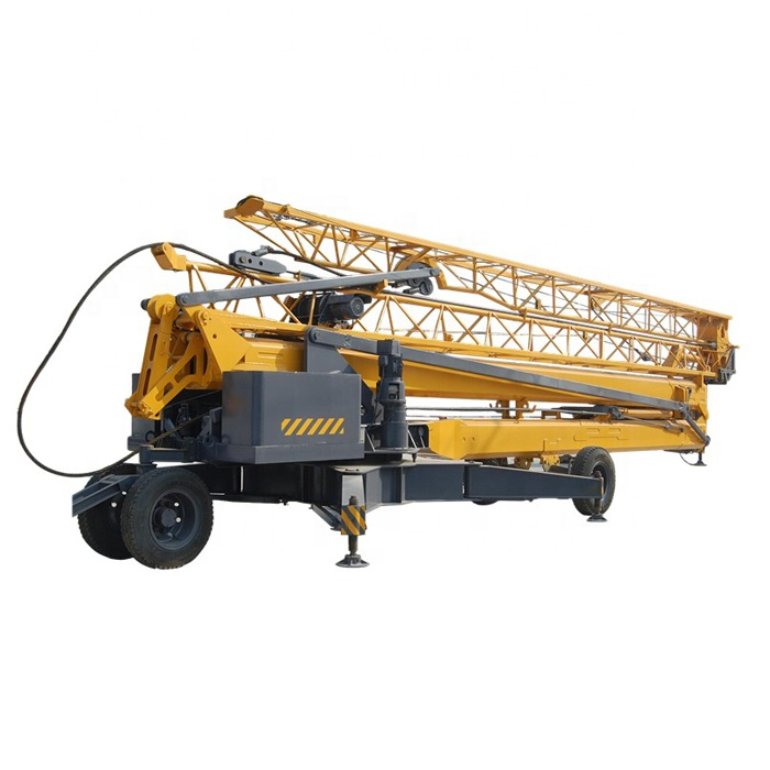 China Xuzhou Manufacture mini folding travelling tower crane low pric