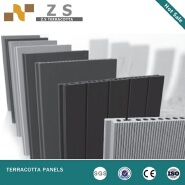 ZS105,Brick panel exterior lightweight for building facade Dry hanging fasade wall Klinker