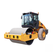 Hot sale lowest price vibratory road roller compactor 16 ton XCM G XS163J with single drum