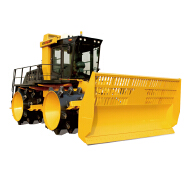 Heavy Equipment Trash Roller SHANTUI 32 ton 340HP refuse landfill compactor SR32YR for sale