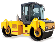 Road roller double steel drum XD82