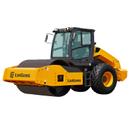 Road building machinery liugong 14 ton sheeps foot vibratory compactor roller 614h 6614E selling