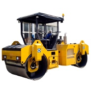 China 8 ton vibratory road roller XD82 for sale