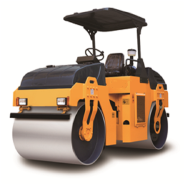 Canmax machinery DR06 double drum soil road roller for sale