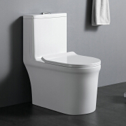 OT312 Hot selling white glazed hotel used cheap ceramic one piece wc toilet