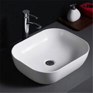516 Cheap price lavabo oval shape porcelain bathroom washing hand basin for home hotel