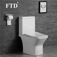 C1012 New Coming Sanitary Ware Western Toilet Design Two Piece WC Toilet Bowl For Hotel