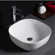 505 Cheap prices sanitaryware ceramic bathroom sink table top ceramic washing hand basin