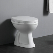C1010 Factory direct sell washdown toilet pan cheap ceramic wc toilet