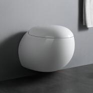 WP1006 China manufacturer round wall mounted water closet porcelain wc toilet bowl