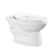 Sanitary ware S-trap no tank mix siphonic ceramic twyford ghana one piece toilet