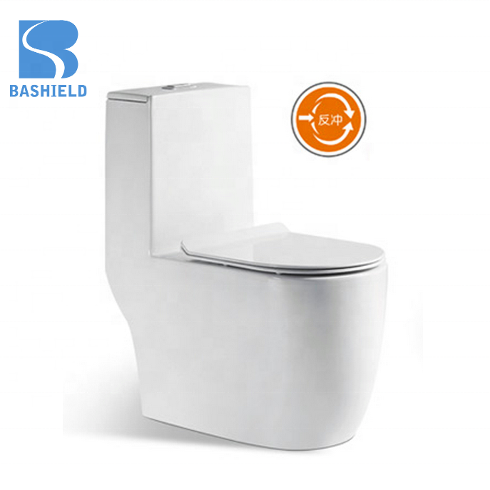 BM1012 Siphonic one piece flushing toilet Factory price bathroom one piece Asia hot sale