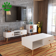 New product living room furniture solid wood center coffee table design set