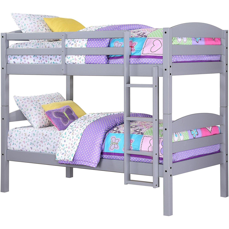 ( WJZ-B97) solid pine wood toddler bunk beds