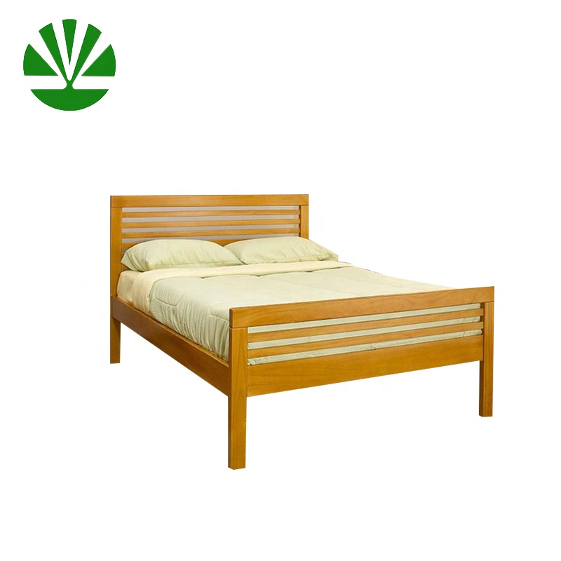 WJZ-B77 wholesale wood furniture frame latest double bed