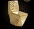 A-2859 Luxury ceramic bathroom sanitary ware Diamond toilet golden toilet