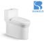 A-6819 rimless ceramic sanitary ware new siphonic round toilet Vietnam toilet