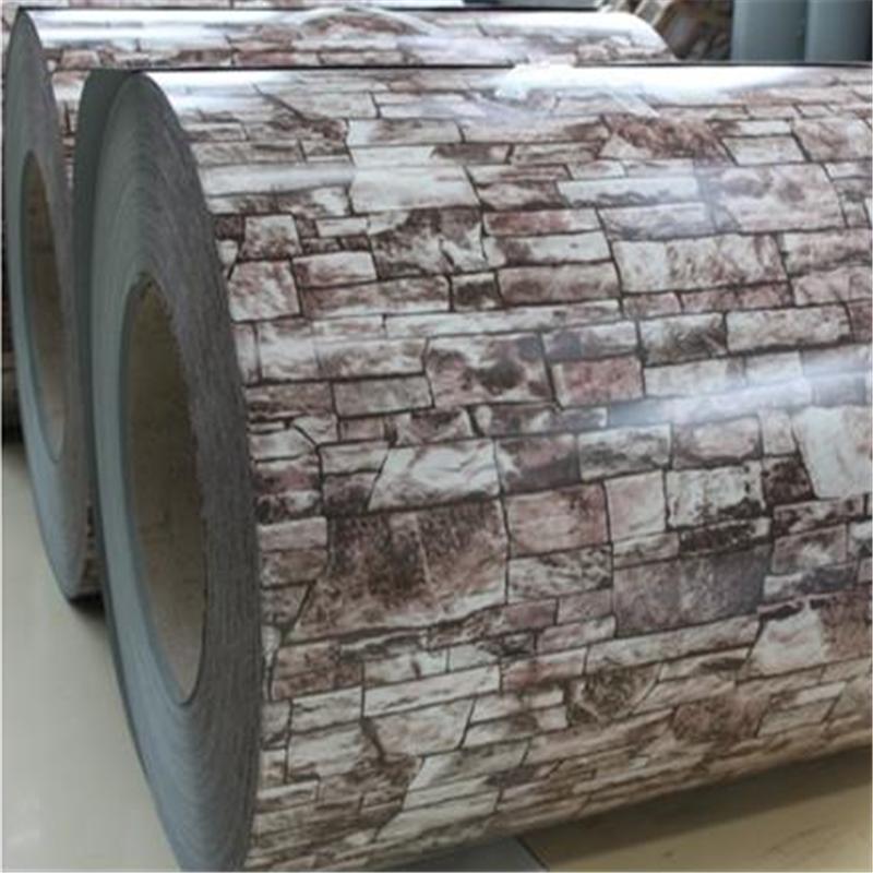 With Wooden Design Dx51d 600-1250mm Prepainted Galvanized Steel