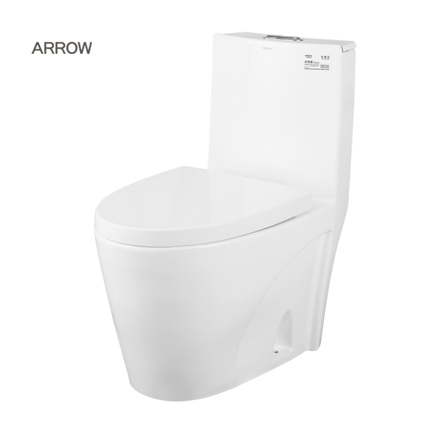 ARROW brand Sanitary ware supplier bathroom water closet wash down one piece western style price public incinerating toilet
