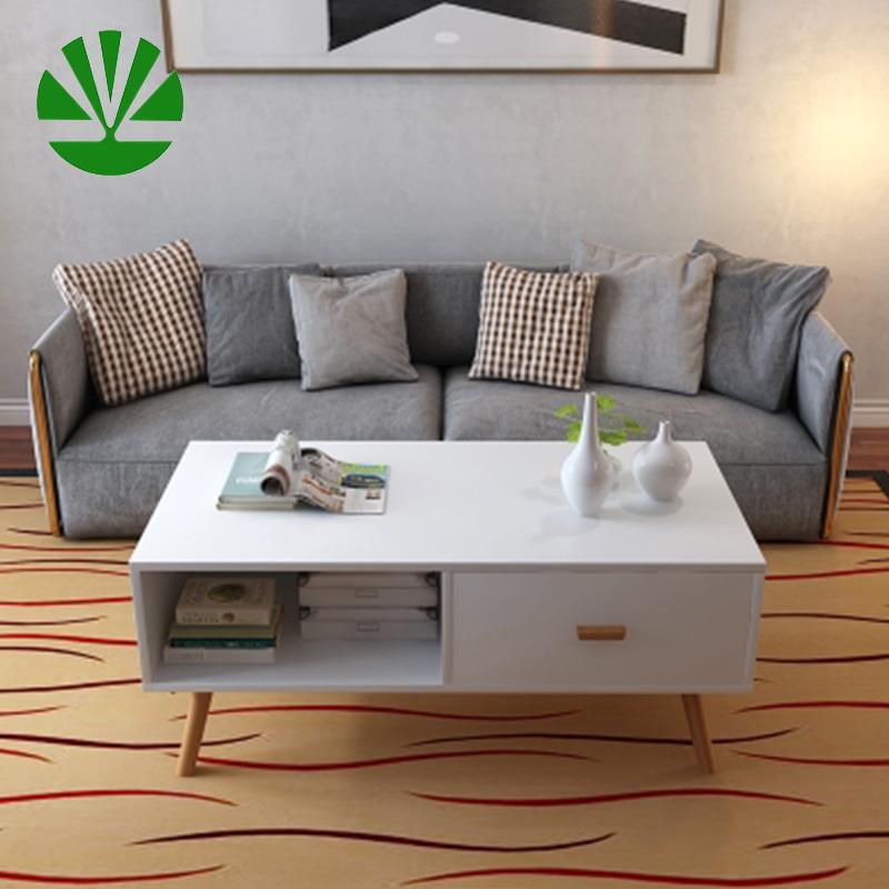 handmade modern style customized wood coffee table living room furniture