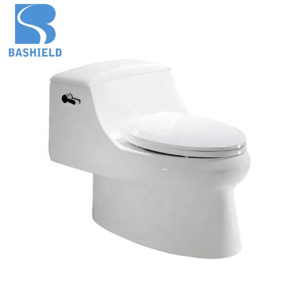 Bathroom Ceramic super swirling One piece toilet Siphonic Closet Toilet AB116
