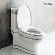 ARROW Bathroom Ceramic Wc China Public Chinese Girl Toilet