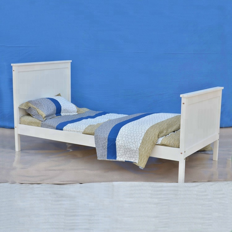wholesale pine wood kids bed frame in single size