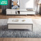 Linsy Home modern minimalist living room furniture small apartment marble coffee table TV cabinet set
