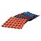 Waterproof fire resistant PVC board ASA resin roofing tile PVC roofing tile