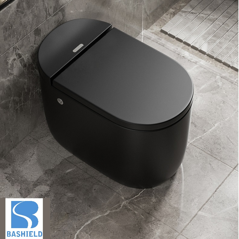 2020 New Design Without Water Tank One-piece Bathroom Toilet BM3008