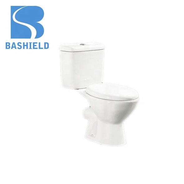 factory cheap price Africa style ceramic washdown two-piece closet bathroom toilet wc 663