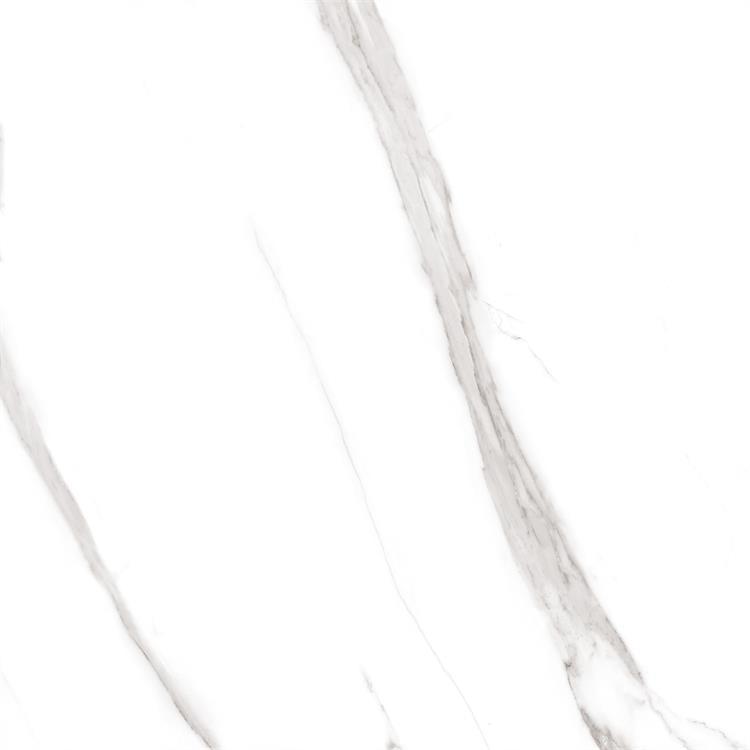 White matte finish porcelain rustic tile floor