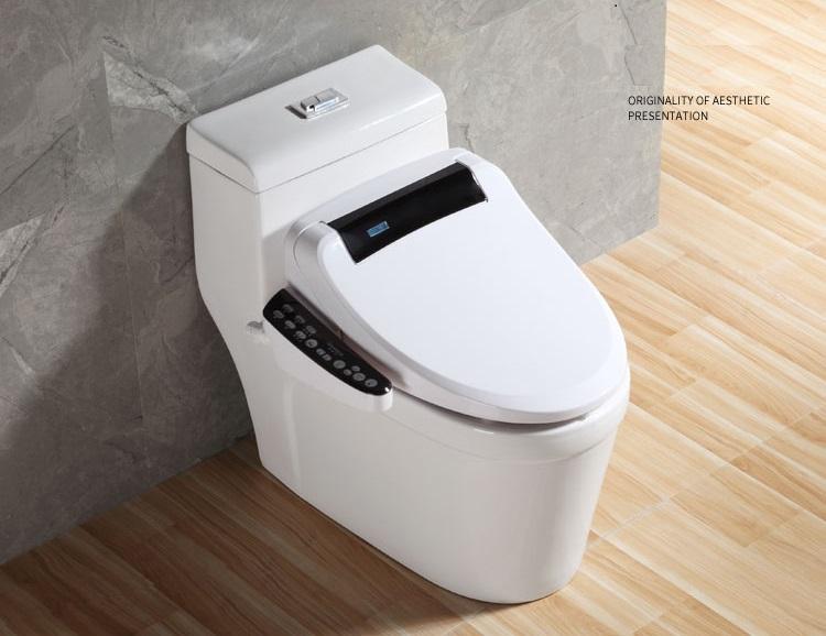 Q2 intelligent and smart toilet with heating/sensor flushing/sensor cover