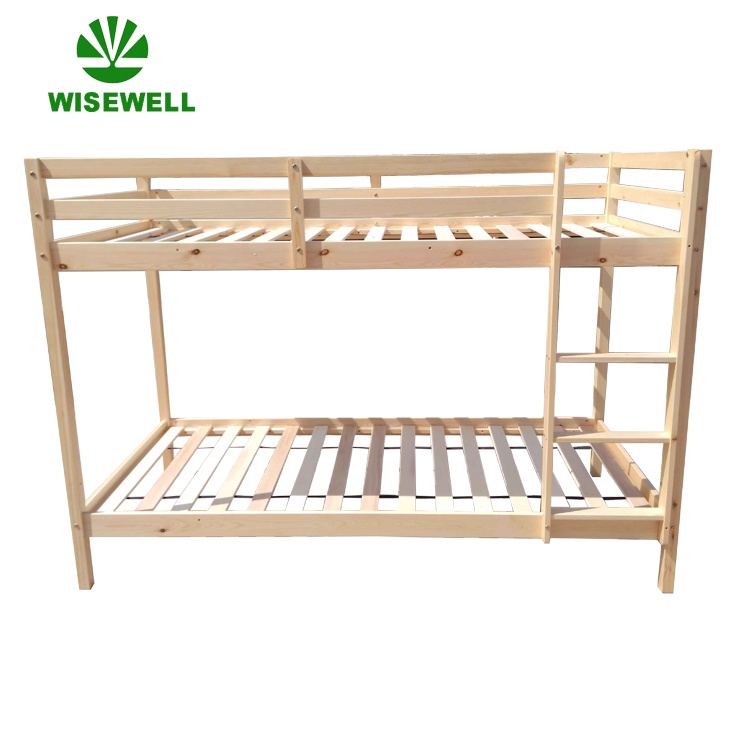 ( WJZ-B16 ) solid pine wood student bed