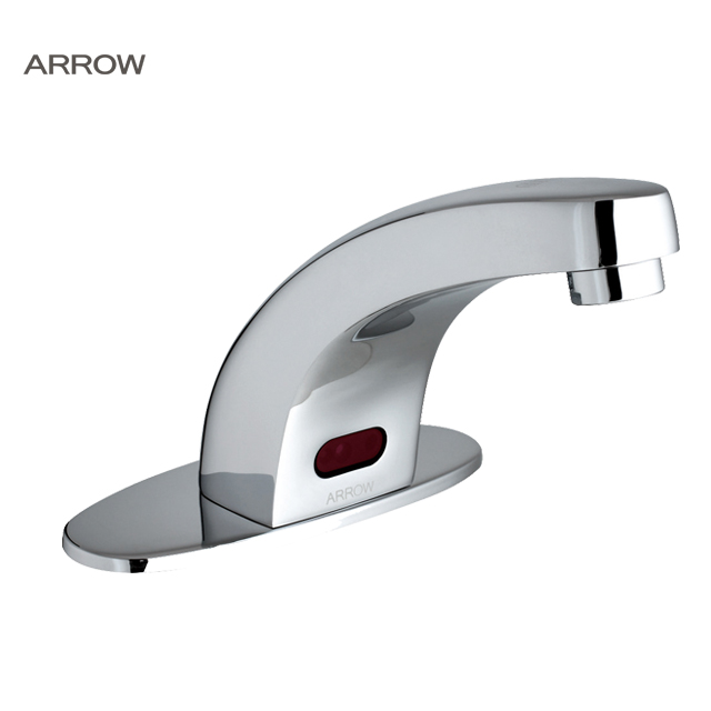 ARROW brand sanitary wares deck mounted infrared automatic shut off sensor faucet FOB Refe