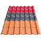 hot selling Plastic roof Tiles ASA PVC Synthetic Resin Material roof tile
