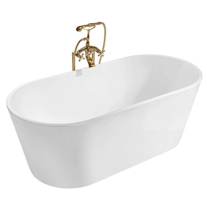 Amazon hot selling CE massage bathtub acrylic freestanding bathtub