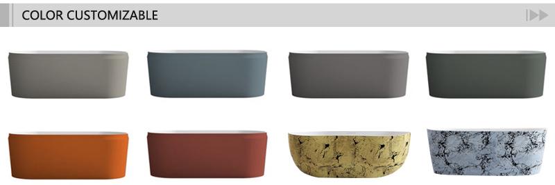 T&W Freestanding Acrylic Bathtub Color customization.jpg