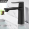 ARROW Basin Black Lavatory Single Handle Tap Bath Taps Waterfall Brass Bathroom Faucet