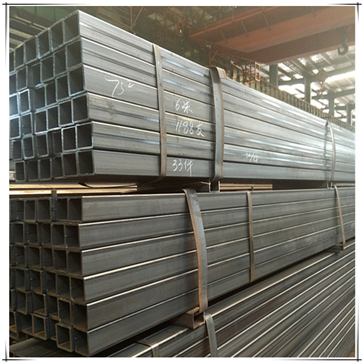 Customized thickness metal tube profile galvanized square tube
