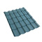 Spanish Style ASA PVC Synthetic Resin Roofing Tile villa roof tile