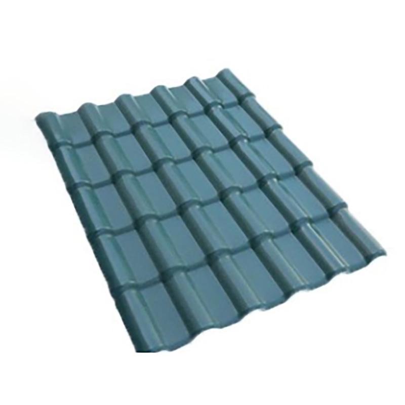 PVC Roof Tiles Waterproof Building Material Resin Proof Tiles