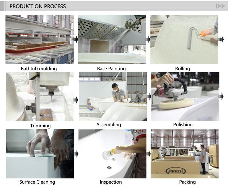 T&W Freestanding Acrylic Bathtub production process.jpg
