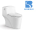 A-2858 Bathroom Ceramic super swirling One piece toilet Siphonic Closet Toilet