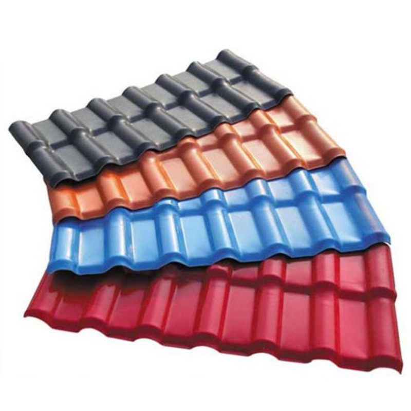 wholesale Wave Corrugated Polycarbonate Sheet Synthetic Resin Roof Tiles