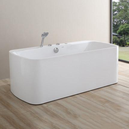 ARROW Acrylic Luxury Five Piece Set Double Massage Bathtub