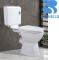 C8107 Cheap Washdown Australian Market WC Bathroom Sanitary Ware Two Piece Toilet with PVC tanks