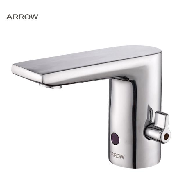 ARROW Brand smart deck mounted single hole water mixer automatic faucet sensor