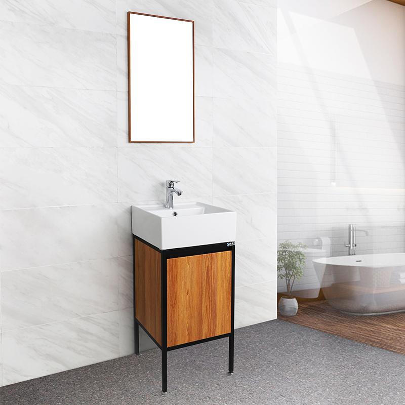 New Design 16 Inch Floor Standing Cheap Bathroom Vanity Cabinets